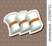 casino cash theme elements | Shutterstock .eps vector #272596712