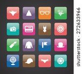 accessories icons universal set ... | Shutterstock .eps vector #272633966