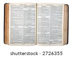 An Old Bible  Published In 194...