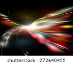 speed light abstract background ... | Shutterstock .eps vector #272640455