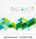 abstract geometric background.... | Shutterstock .eps vector #272647028