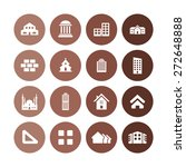 architecture icons universal... | Shutterstock .eps vector #272648888