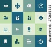 app icons universal set for web ... | Shutterstock .eps vector #272655836
