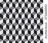 cubes seamless  vector...   Shutterstock .eps vector #272660042