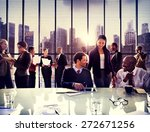 business people office working... | Shutterstock . vector #272671256