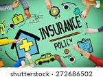 insurance policy help legal... | Shutterstock . vector #272686502