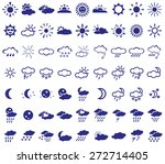 image with different weather... | Shutterstock .eps vector #272714405