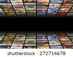 digital hdtv broadcast concept | Shutterstock . vector #272714678