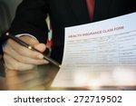 insurance claim form   Shutterstock . vector #272719502