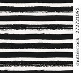 hand drawn striped seamless... | Shutterstock .eps vector #272721092