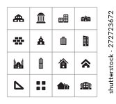 architecture icons universal... | Shutterstock .eps vector #272723672