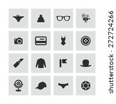 accessories icons universal set ... | Shutterstock .eps vector #272724266