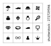 accessories icons universal set ... | Shutterstock .eps vector #272729546