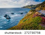 View Of The Pacific Ocean And...