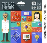 strings theory icon set.... | Shutterstock .eps vector #272731706