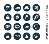 accessories icons universal set ... | Shutterstock .eps vector #272747432