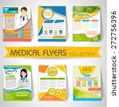 collection of stylish flyers ... | Shutterstock .eps vector #272756396