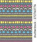 seamless pattern with geometric ... | Shutterstock .eps vector #272763776