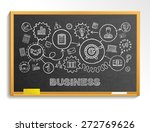 business hand draw integrated... | Shutterstock .eps vector #272769626