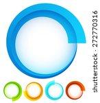 circular  round design elements....