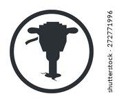 jackhammer icon.