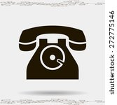 phone icon  vector illustration | Shutterstock .eps vector #272775146