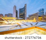 Stock photo nathan phillips square in toronto canada 272776736