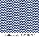 seamless porcelain indigo blue...   Shutterstock .eps vector #272802722