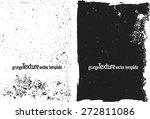 grunge frame texture set  ... | Shutterstock .eps vector #272811086