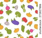 food pattern | Shutterstock .eps vector #272827886