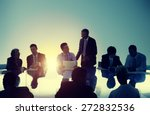 business people meeting working ... | Shutterstock . vector #272832536