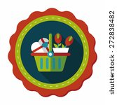 valentine's day present bucket...   Shutterstock .eps vector #272838482