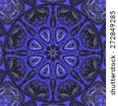 kaleidoscopic beautiful... | Shutterstock . vector #272849285
