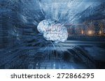 artificial intelligence and... | Shutterstock . vector #272866295