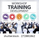 workshop training teaching... | Shutterstock . vector #272881862