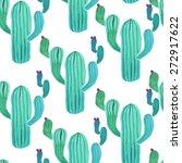 Watercolor Cactus Plant...