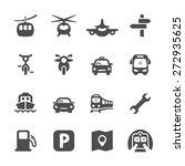 transportation icon set 2 ...   Shutterstock .eps vector #272935625