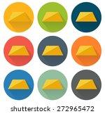 set of 9 isolated flat icons...