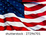 An American Flag Background...