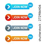 join now free buttons | Shutterstock .eps vector #272986406