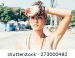 Outdoor Summer Portrait Of...