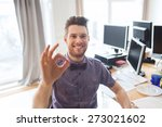 business  startup  gesture and... | Shutterstock . vector #273021602