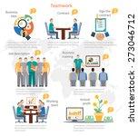 business start idea... | Shutterstock .eps vector #273046712