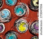 seamless background pattern ... | Shutterstock .eps vector #273047036