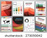 abstract vector backgrounds and ... | Shutterstock .eps vector #273050042