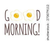 good morning | Shutterstock .eps vector #273079112