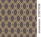 geometric pattern with golden... | Shutterstock .eps vector #273079538