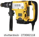 professional rotary hammer on... | Shutterstock . vector #273082118