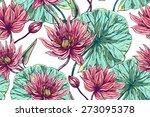 beautiful seamless vector... | Shutterstock .eps vector #273095378
