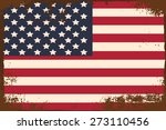 my american dream  illustration ... | Shutterstock .eps vector #273110456